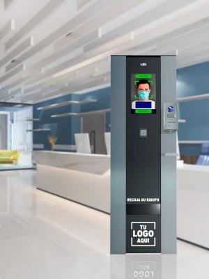 Una empresa española ha desarrollado una máquina de vending que mide la temperatura y dispensa EPIs