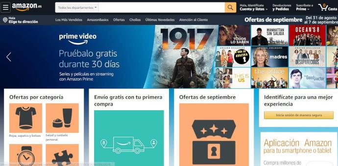 Amazon y AliExpress, líderes en el ecommerce español