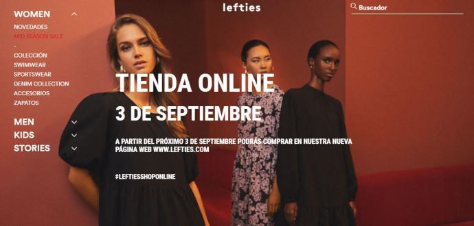 La tienda online de Lefties, una realidad a partir de septiembre