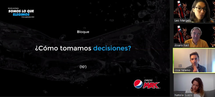 Aplauso de Pepsi Max a las personas que toman sus propias decisiones