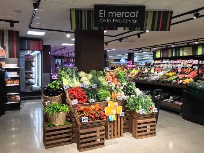 Caprabo abre un nuevo supermercado en Barcelona