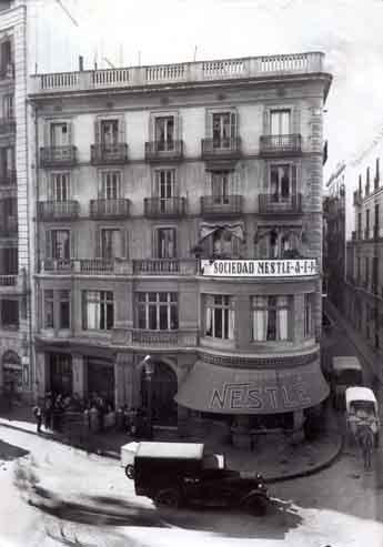 La sociedad Nestlé España celebra 100 años de su nacimiento