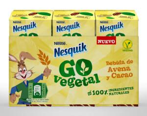 Nestlé presenta Nesquik Go Vegetal ok