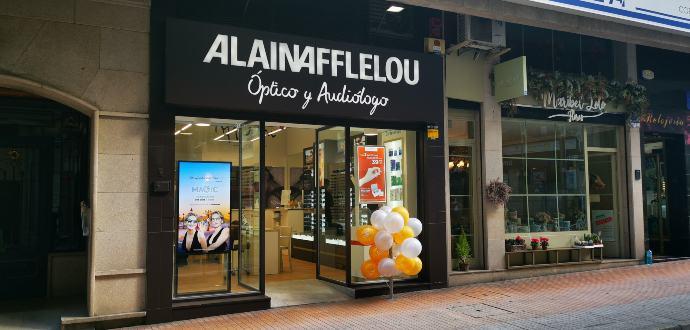 Alain Afflelou abre una nueva óptica en Pontevedra
