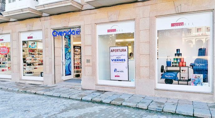 Grupo Recio lleva Perfumerías Avenida– Neobel a Ferrol