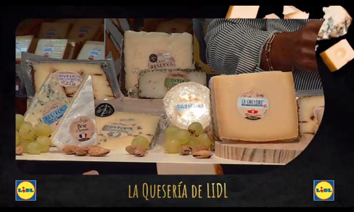 'La Quesería de Lidl', la apuesta gourmet de Lidl España