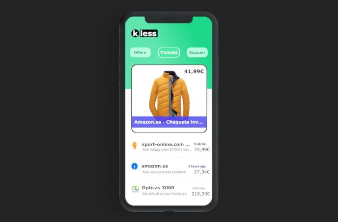 Ticketless es una aplicación móvil que recopila todos los tickets de compra para gestionar el servicio post-venta