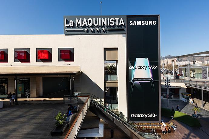 El centro comercial La Maquinista es uno de los centros donde se formarán a desempleados para Retail