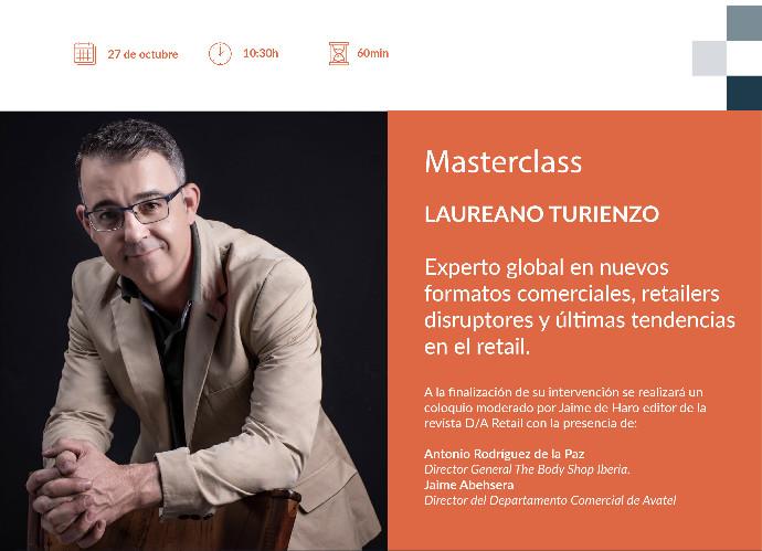 Masterclass con Laureano Turienzo: 'El futuro del punto de venta'
