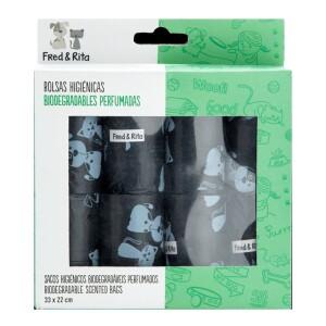Bolsa biodegradable de aroma lavanda.