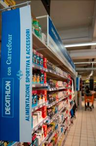 En siete tiendas italianas de Carrefour