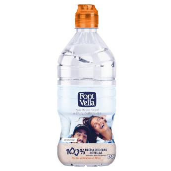 Font Vella suma una nueva botella rPET para el cliente final
