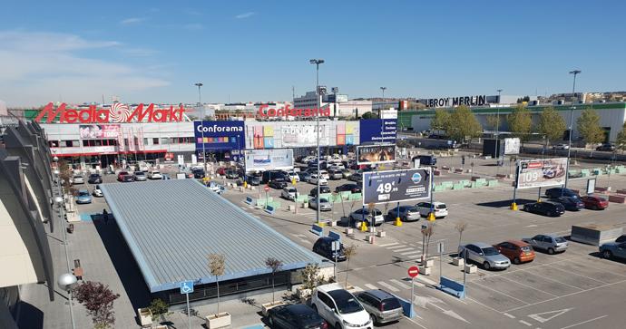 Lar España invierte 2,4 millones en el parque comercial Rivas Futura