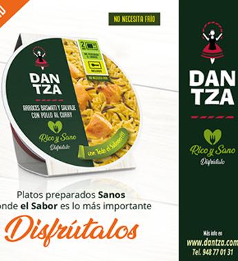 Conservas Dantza lanza su nueva gama de platos preparados