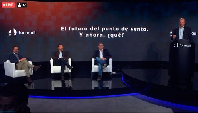 Antonio Rodríguez de la Paz, director general de The Body Shop Iberia; Jaime Abehsera, director del departamento comercial de Avatel Telecom
