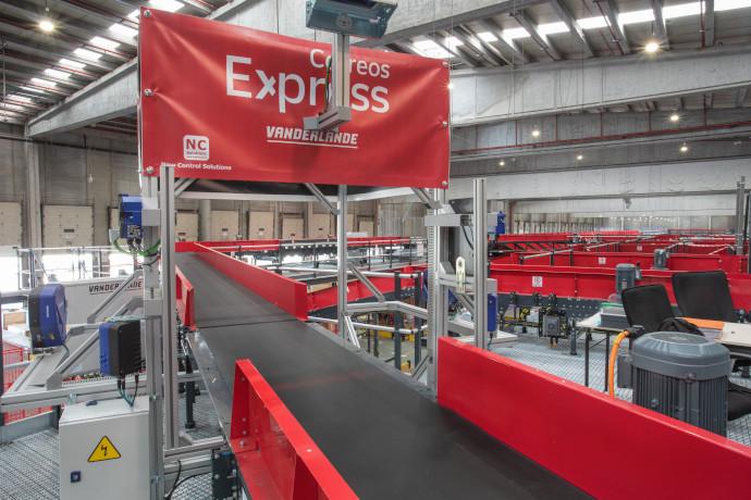 Nuevo almacén de Correos Express en Getafe