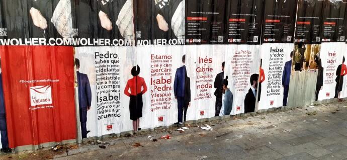 La Vaguada da un toque a los políticos. Les invita a acercar posturas