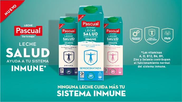 Pascual se adentra en la alimentación funcional con Leche Pascual Salud