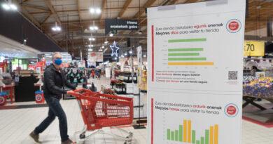 Eroski incorpora un sistema de información de afluencia en sus tiendas