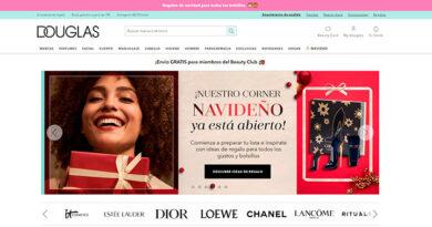 Douglas, con un 120% más de ventas online en España