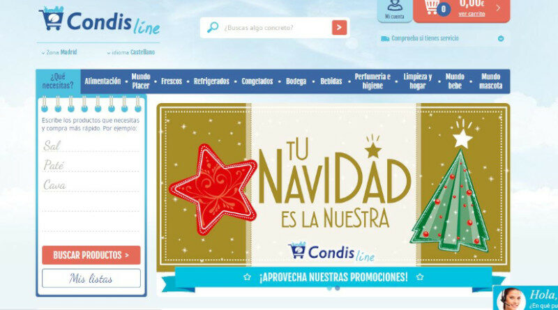 Condis abrirá un centro logístico específico para su supermercado online, Condisline