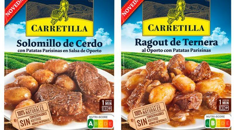 Carretilla amplía su gama de 'Platos Listos' con nuevas recetas