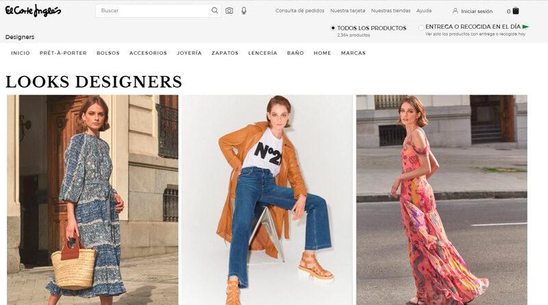 El Corte Inglés lanza Designers, su espacio online de moda de lujo