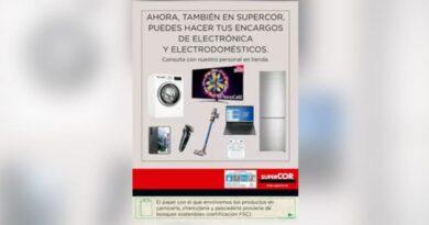 Supercor venderá electrónica y electrodomésticos de El Corte Inglés