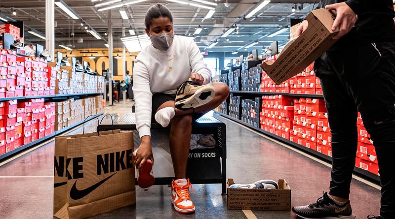 Nike, en el mercado de segunda mano. Vende zapatillas reacondicionadas