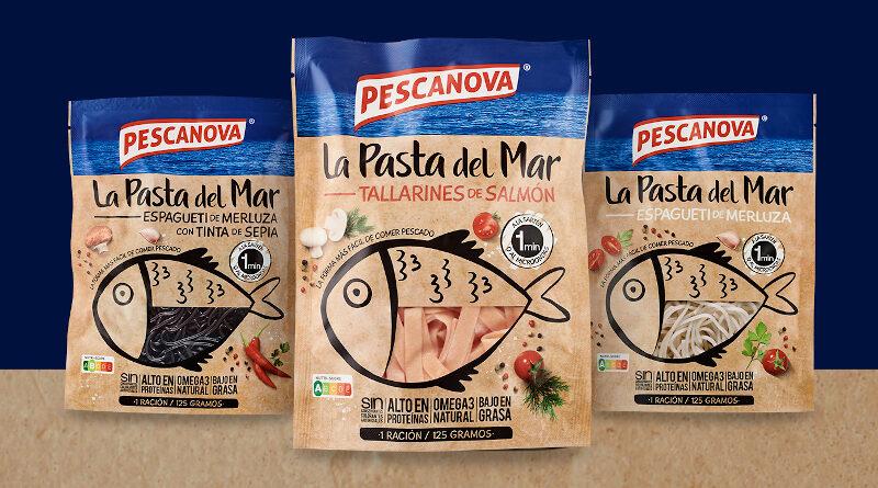 Pescanova presenta su primera colección de pasta hecha con pescado