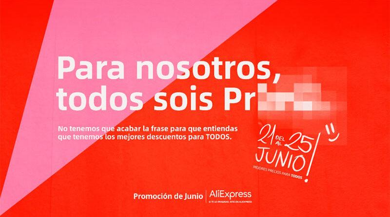 AliExpress lanzará, del 21 al 25 de junio, descuentos de hasta el 70%