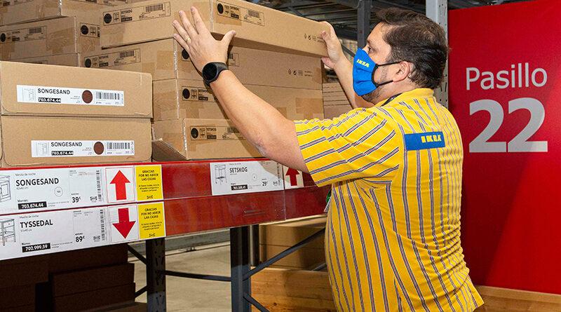 Ikea habilita puntos de recogida de pedidos en Barcelona y Madrid