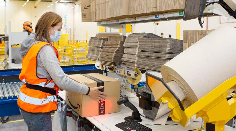 Amazon amplía su plantilla. Creará 3.000 nuevos puestos en España