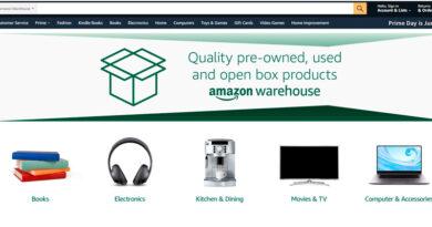 Amazon prueba la venta de productos de segunda mano