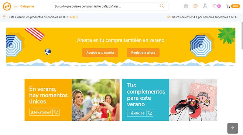 Consum extiende su ecommerce a 9 poblaciones más de Barcelona
