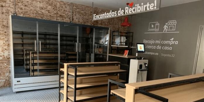 Alcampo abre en Madrid su primer punto de recogida de compras online