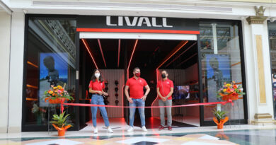 El fabricante de cascos inteligentes Livall abre su primera tienda