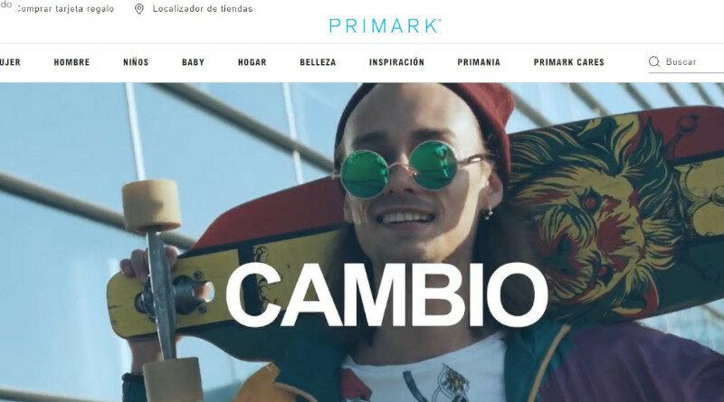 Primark avanza en digitalización. Nueva web en 2022 sin ecommerce