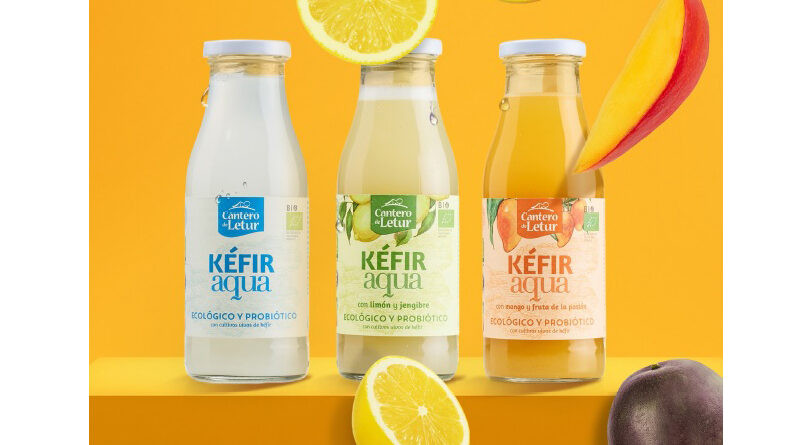 Kéfir Aqua, el primer kéfir sin lácteos, aterriza en los supermercados