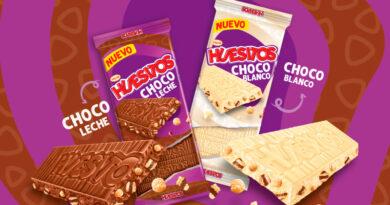 Huesitos suma nuevo formato. Lanza sus primeras tabletas de chocolate